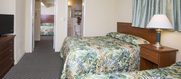 Armada By the Sea deluxe oceanview three room family hotel suite in Wildwood NJ