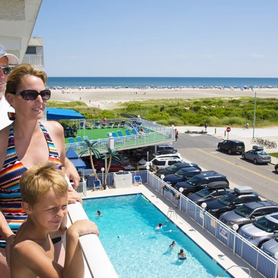 Family at Armada by the Sea in Wildwood Crest NJ