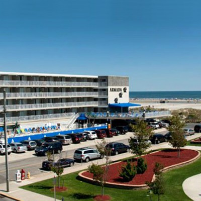 Armada by the Sea beachfront hotel in Wildwood Crest NJ