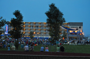 Centennial Park concert next to Armada By-The-Sea in Wildwood, NJ