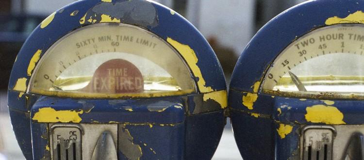 Old Parking Meters